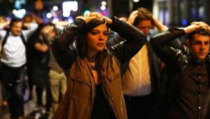 Londra'daki Terör Saldırısından İlk Kareler