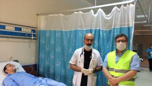 Çorlu Devlet Hastanesi'nde Kbrn Tatbikatı