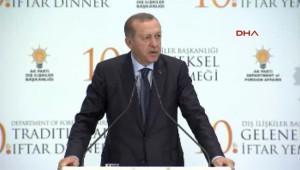 Cumhurbaşkanı Erdoğan ve Başbakan Yıldırım Büyükelçiler Iftarında Konuştu 7