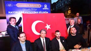 Real Madrid'in Yıldızı Fatih'te Iftar Programına Katıldı