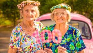 Dünyanın En Pamuk İkizleri 100 Yaşına Bastı