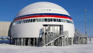 Rusya'nın Kutuplardaki Gizli Üssünden 20 Kare