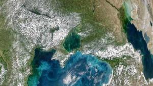 Karadeniz ve İstanbul Boğazı'nın Turkuaz Rengi Uzaydan Görüntülendi