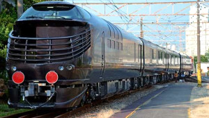 Japonya'nın Süper Lüks Suit Treni: Mizukaze
