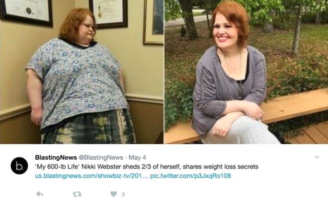 Yerinden Dahi Kalkamayan Obez Kadın 206 Kilo Verdi!