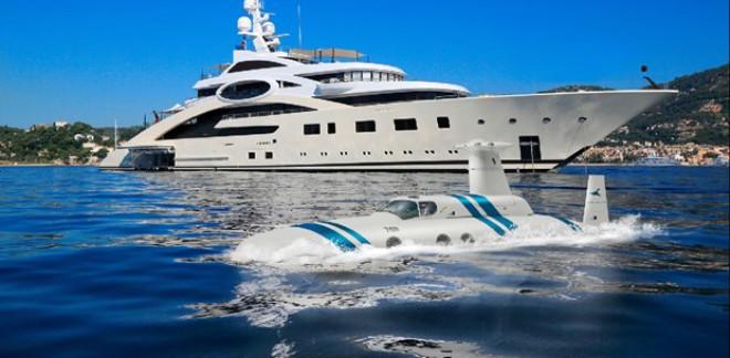 Zenginlerin Yeni Oyuncağı Denizaltı Görücüye Çıktı