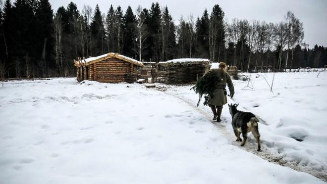 -30 Derecede Ormanda Tek Başına Yaşayan Genç: Pavel Sapozhnikov