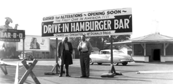 Amerika'nın Meşhur Fast-Food Zinciri McDonald's'ın Kuruluş Hikayesi