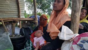 Fotoğraflarla: Myanmar'dan Kaçan Arakanlı Müslümanlar