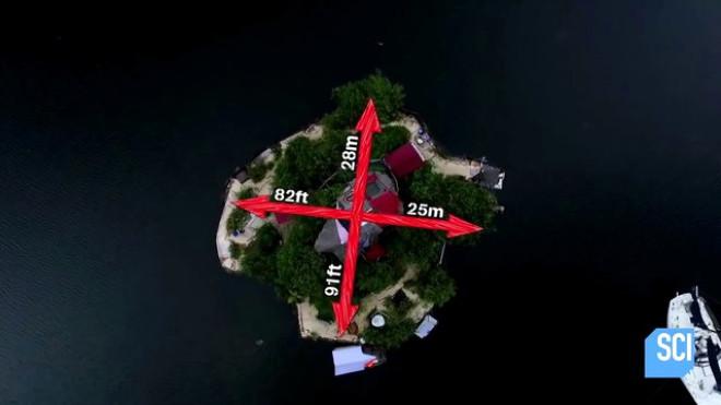 150 Bin Pet Şişe ile Yüzen Ada Yaptı