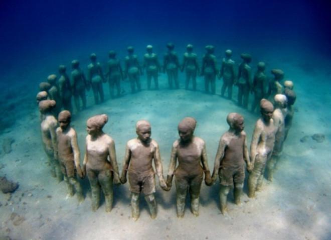 'Underwater sculptures', Meksika