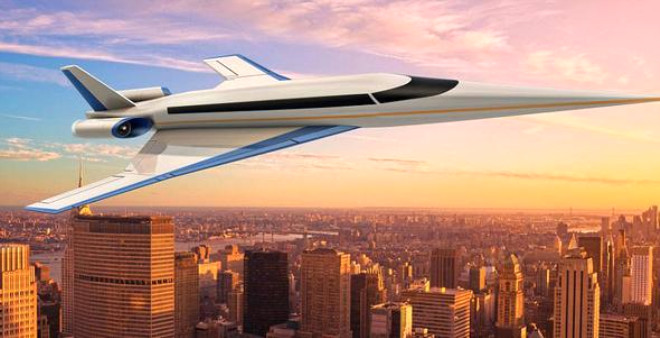 9 Saatlik Uçuşu 3 Saate İndiren Süpersonik Uçak!