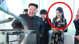 Kim Jong-un Eşiyle Fabrika Ziyaretinde
