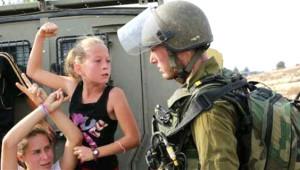 İsrail Askerine Yumruk Atan Filistinli Küçük Kız Büyüdü!