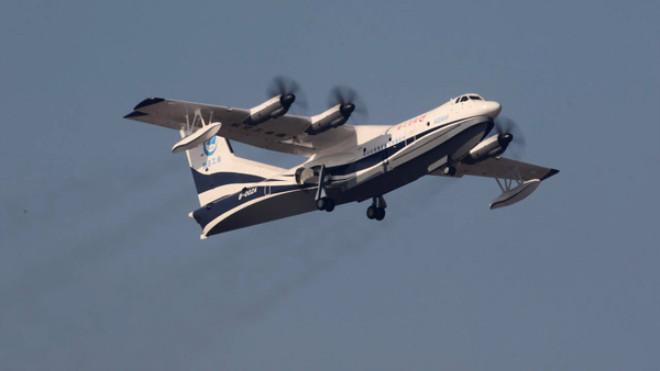 Dünyanın En Büyük Amfibik Uçağı AG600 Görücüye Çıktı