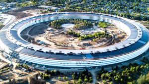 Apple'ın Yeni Karargâhı Böyle Görüntülendi