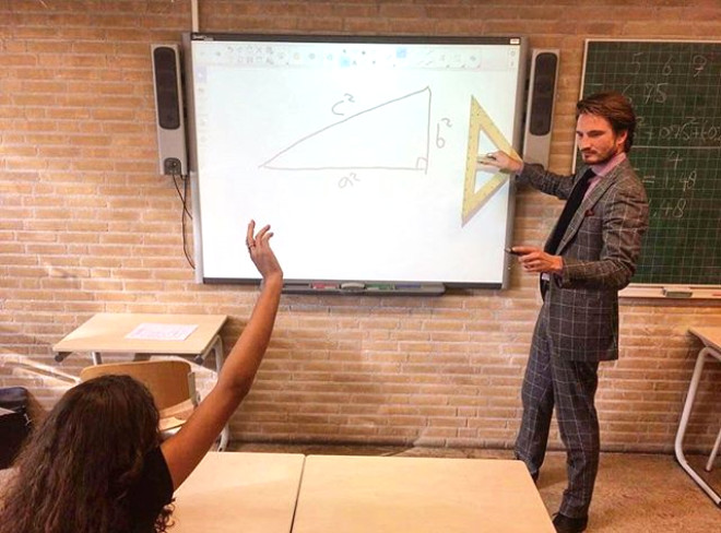 Matematik Hocası Sosyal Medyayı Salladı!