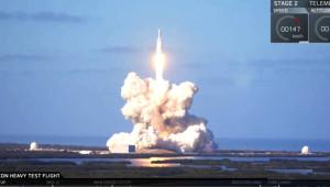 Dünyanın En Güçlü Roketi Uzaya Böyle Fırlatıldı