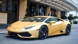 Suudi Milyarderin Altın Kaplama Otomobilleri