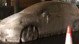 Şiddetli Kar Yağışının Hayatı Felç Ettiği İngiltere'den Kareler