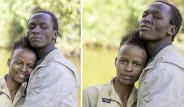 Kenyalı Evsiz Çift, Yetenekli Fotoğrafçının Hediyesiyle 1 Günlüğüne Başka Biri Oldu