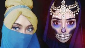 Başörtülü Makyöz Sanatıyla Instagram'ı Salladı