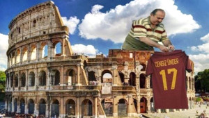 Cengizli Roma Barcelona'yı Eledi, Sosyal Medya Yıkıldı!