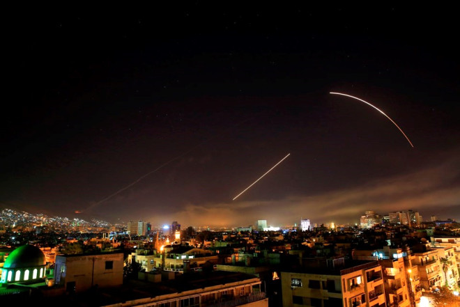 ABD Suriye'yi Böyle Vurdu