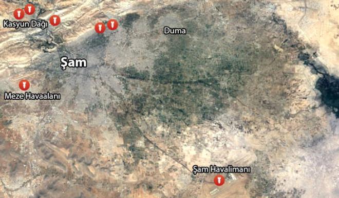 ABD Suriye'de Nereyi, Hangi Silahla Vurdu?