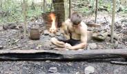 Genç Çocuk, Ormanda Tek Başına Yaptığı İcatla Şoke Etti