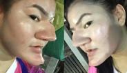 Taylandlı Kız Burnuyla Adeta Fenomen Oldu