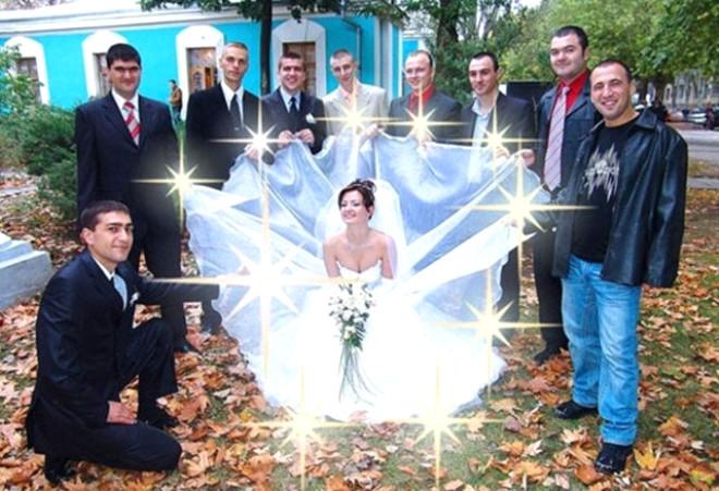 Rusların Tuhaf Ötesi 40 Düğün Fotoğrafı