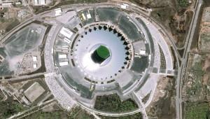 Dünya Kupası Statları Uzaydan Böyle Görüntülendi