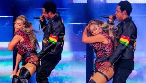 Beyonce 4 Farklı Kostüm Giydiği Konserde Nefes Kesti! Kocasıyla Dansı Olay