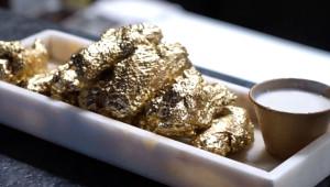 Bu Restoranda Tavuk Kanatları 24 Ayar Altından!