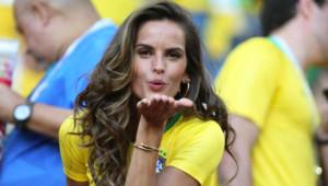 Brezilyalı Manken Turnuvaya Damga Vurdu