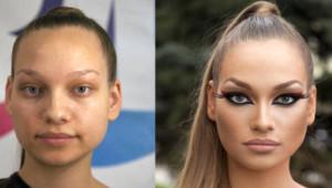 Güzellikte Bir Adım Öne Çıkan Rus Kadınların Makyajsız Halleri