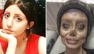 Angelina Jolie'ye Benzemek İçin Sayısız Ameliyat Geçiren İranlı Kadının Son Hali