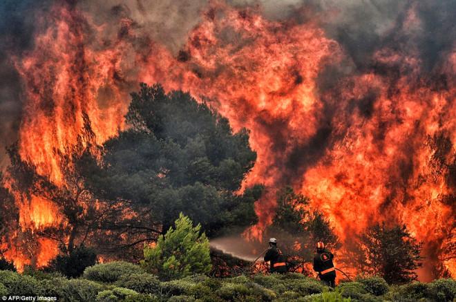 Yanmamak İçin Denize Atladılar! Komşu'daki Yangında Ölü Sayısı 77'ye Yükseldi