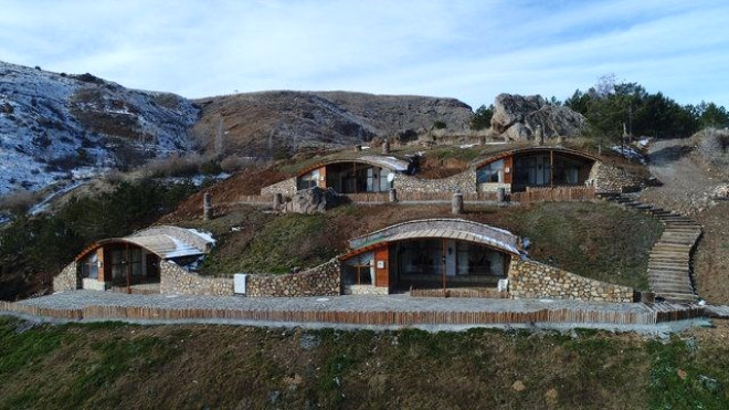 Sivas'taki Hobbit Köyü'nden Kareler