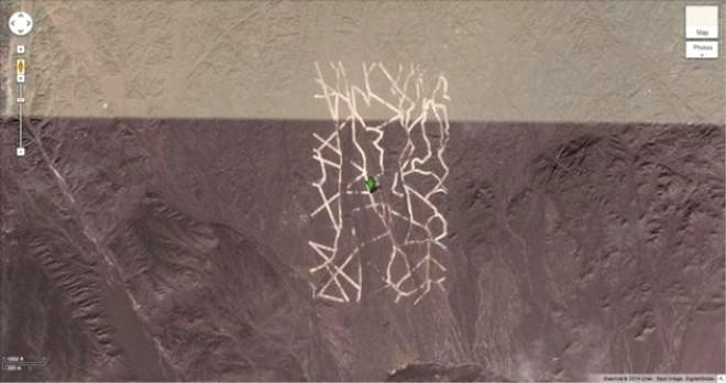 Google Earth, Yunanistan'da Tanımlanamayan Cisim Buldu