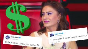 Yıldız Tilbe, Dolar Tweetleriyle Sosyal Medyayı Salladı