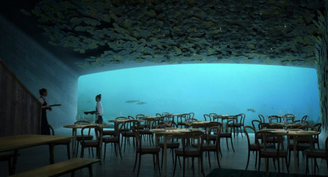 Avrupa'nın ilk Su Altı Restoranı: Under