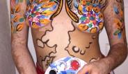 Onun Tuvali Vücudu! Vitiligo Hastalığını Sanata Çeviren Kadın: Ash Soto