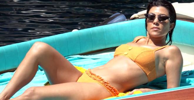Kourtney Kardashian, vajinasının parlaması için düzenli olarak mayonez sürüyor.