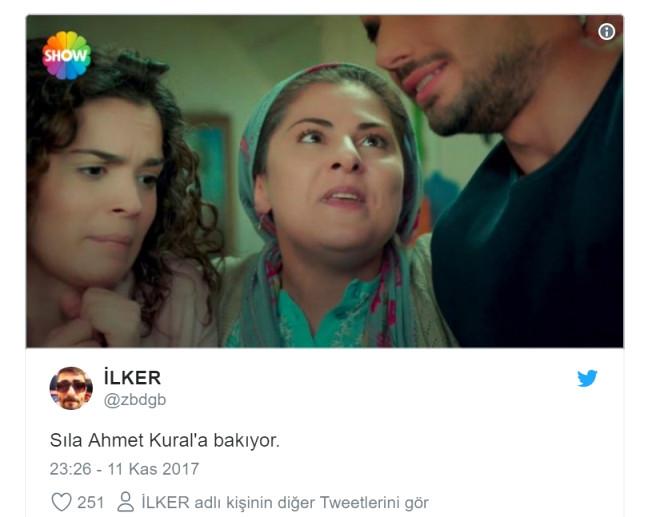 Ahmet Kural Ve Sıla'nın Bakışmalarıyla İlgili Atılmış En Komik Tweetler