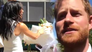 Prens Harry'nin, Hamile Eşine Hediye Edilen Devasa Bukete Tepkisi Şoke Etti