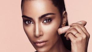 Kim Kardashian'dan Erkeklere Özel Makyaj Malzemesi