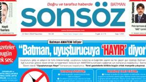 Batman'dan Alkışlanacak Hareket! Şehrin Tüm Gazeteleri, Zehir Tacirlerine Aynı Manşeti Attı
