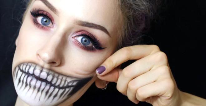 Cadılar Bayramında Yapılmış En Yaratıcı Makyajlar